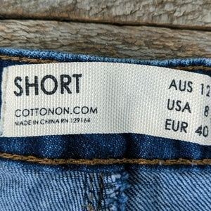 Cotton On Shorts - Cotton On distressed denim shorts 8